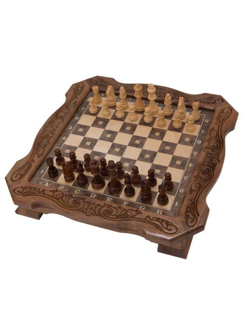 Шахматы с выдвижными ящиками мастер Мхитар Аветян