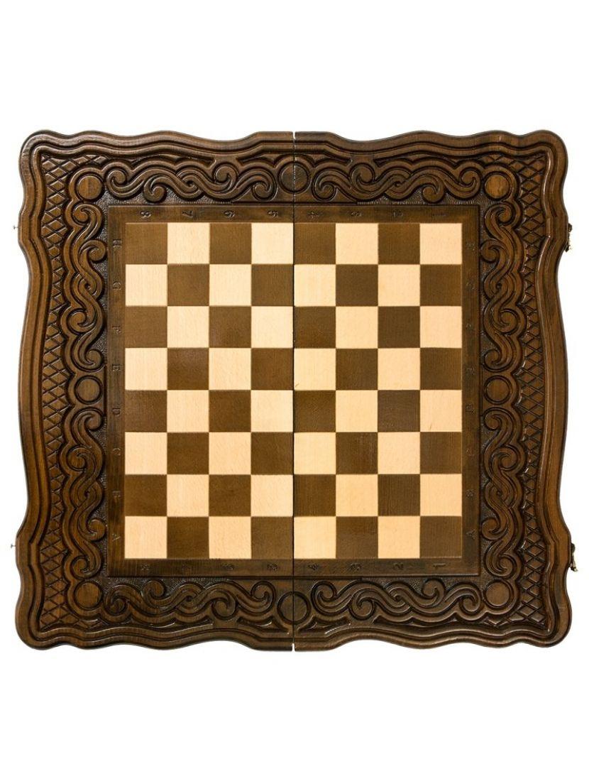 Нарды + шахматы + шашки «Бриз» мастер Карен Халеян 3 в 1 41 см