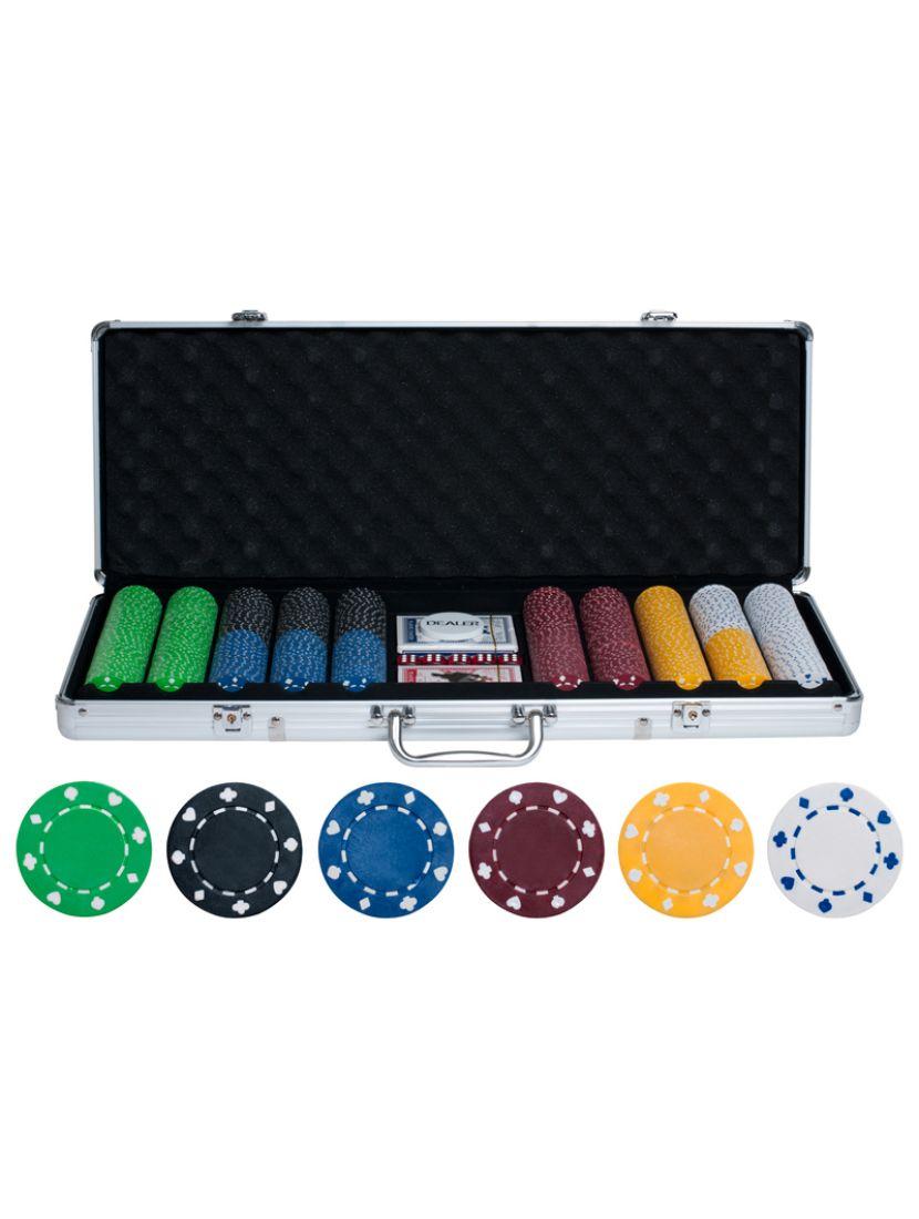 Покер на 500 фишек без номинала