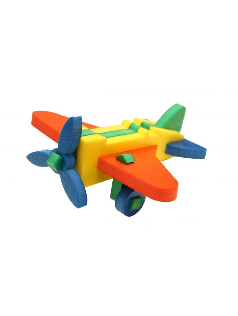 Конструктор мягкий «Самолёт»