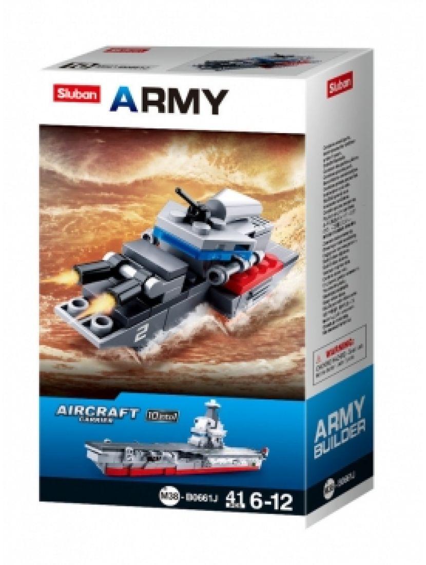Конструктор «Армия. Штурмовой катер 10 в 1» (41 деталь)