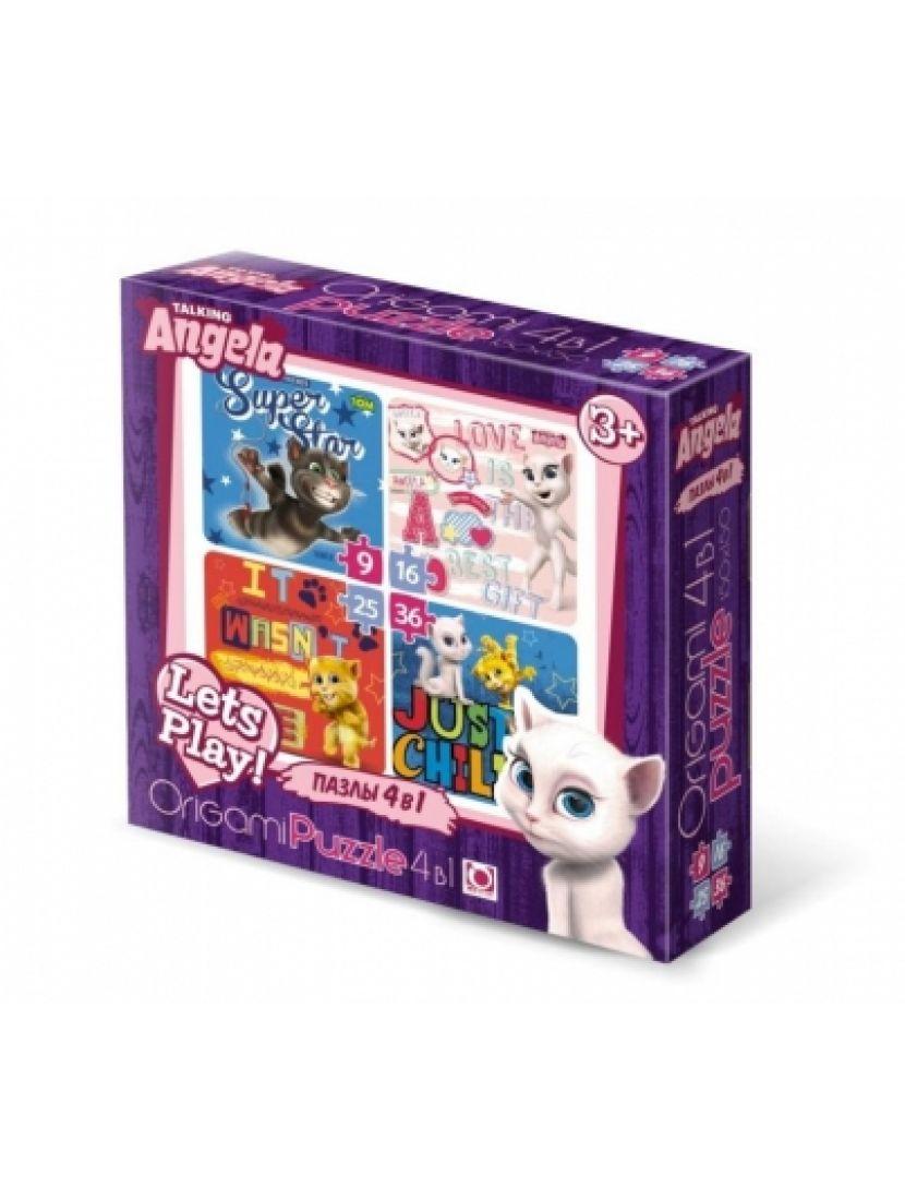 Пазл-набор 4 в 1 «My Little Pony + маркер с блестками» 9, 16, 25, 36 элементов