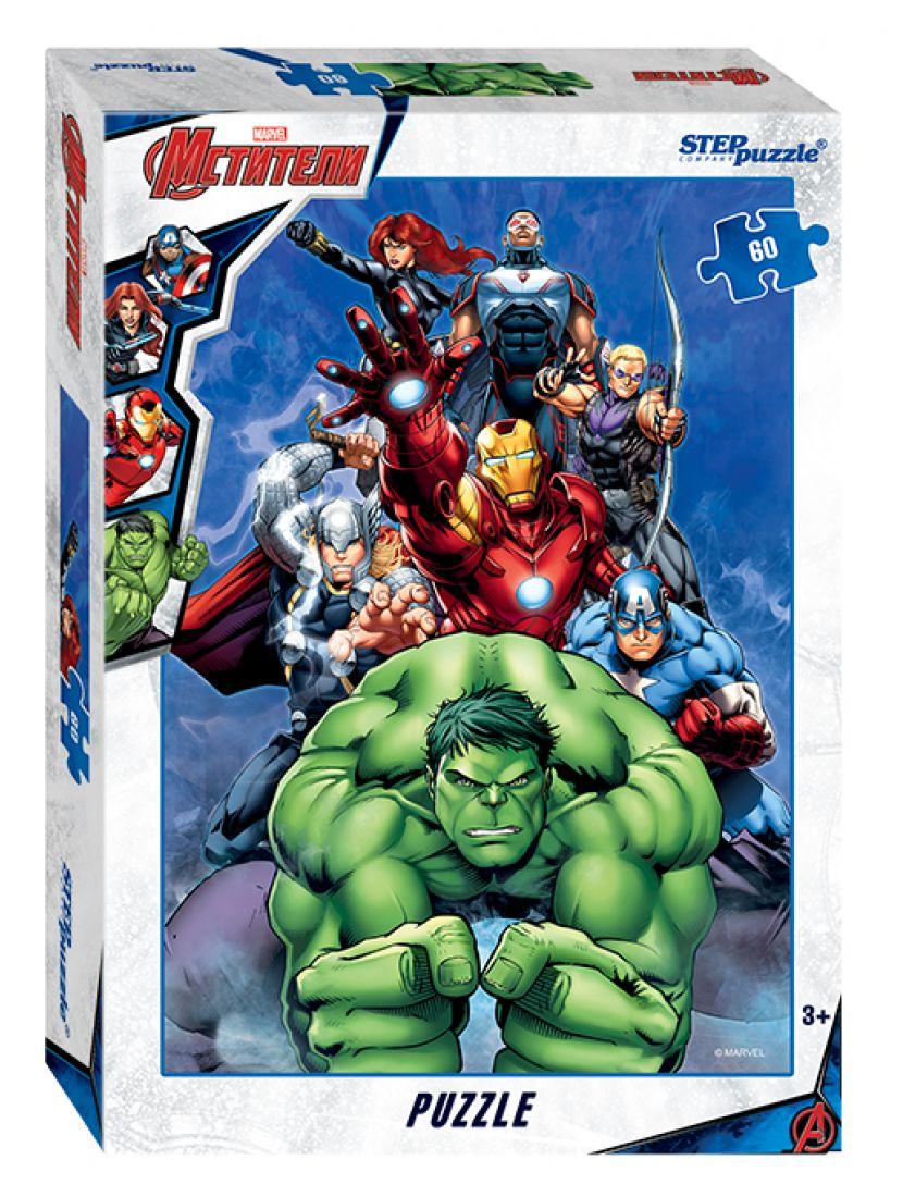 Пазл «Мстители - 3 (Marvel)» 60 элементов