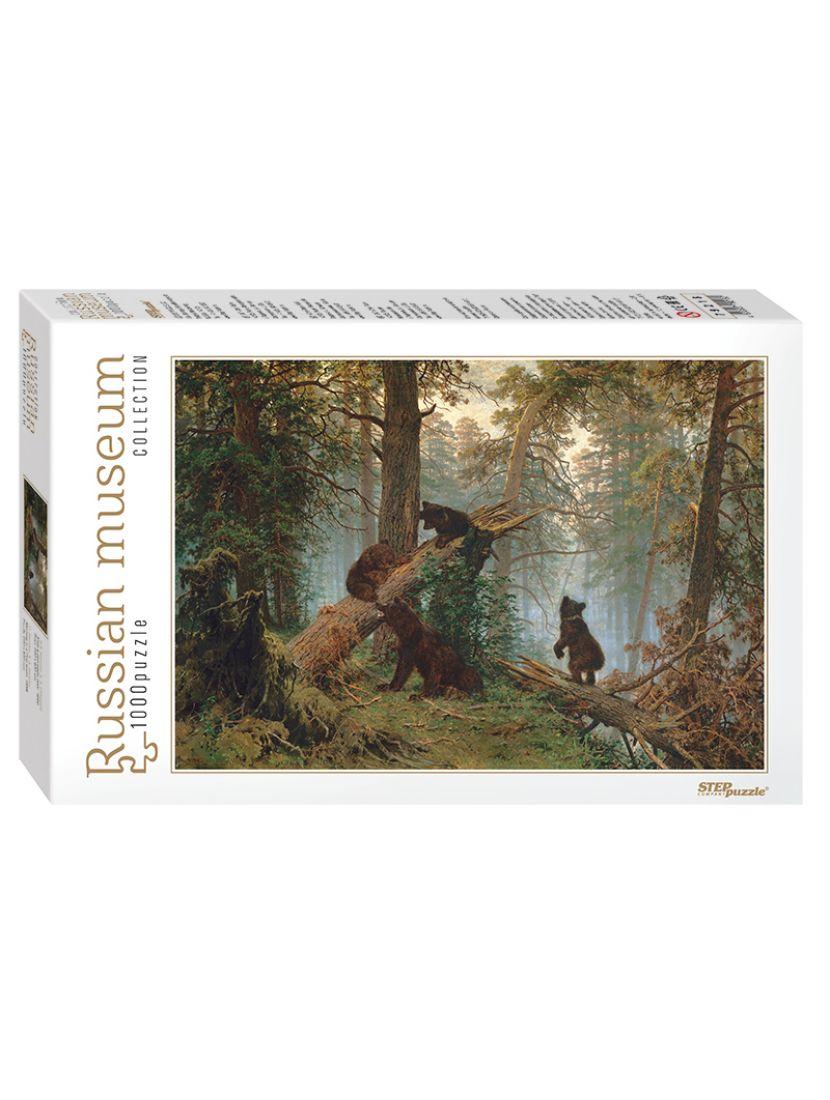 Пазл «Утро в сосновом лесу» 1000 элементов