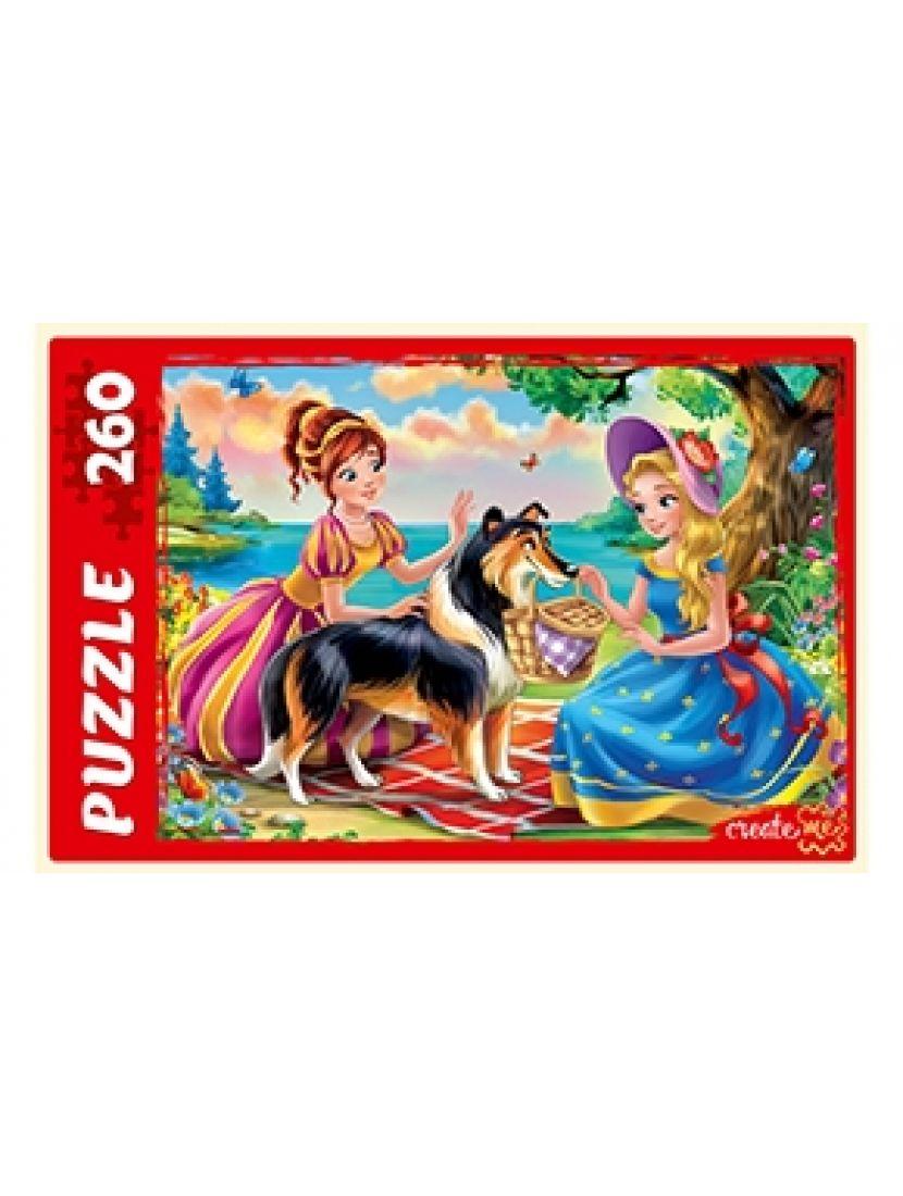 Пазл «Сказка о принцессах» 260 элементов