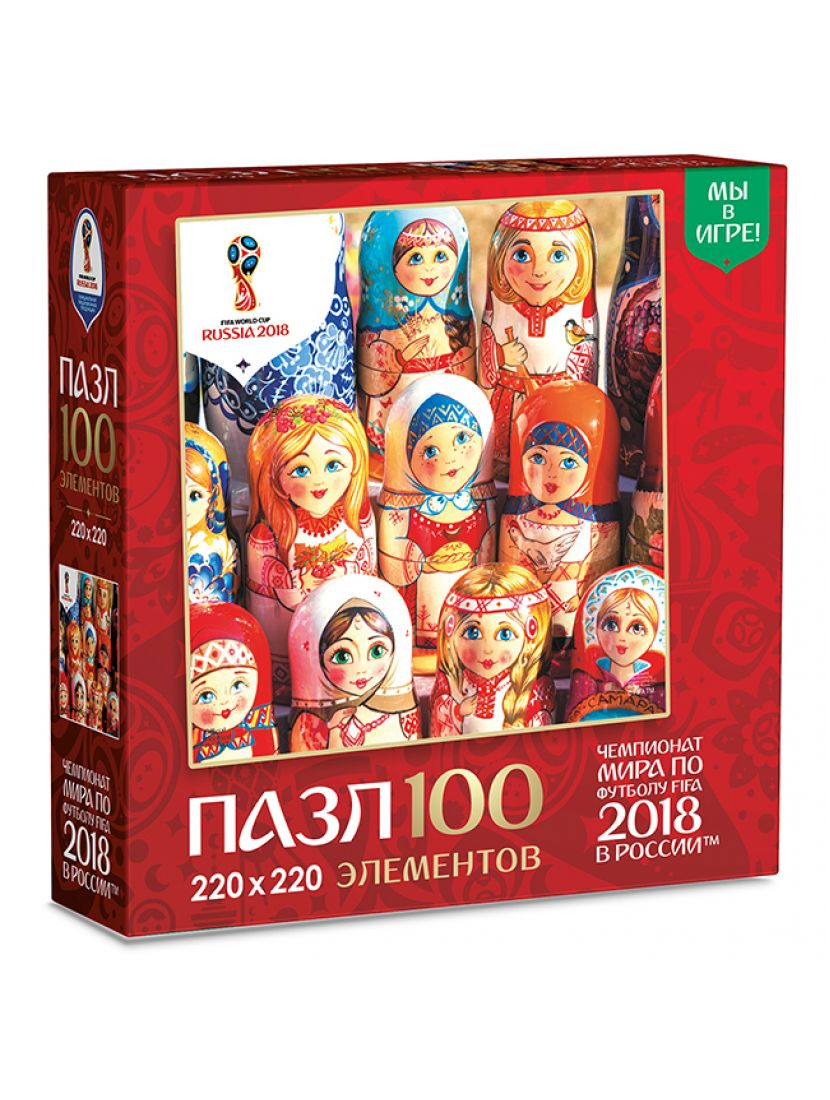 Пазл «Расписные куклы» 100 элементов