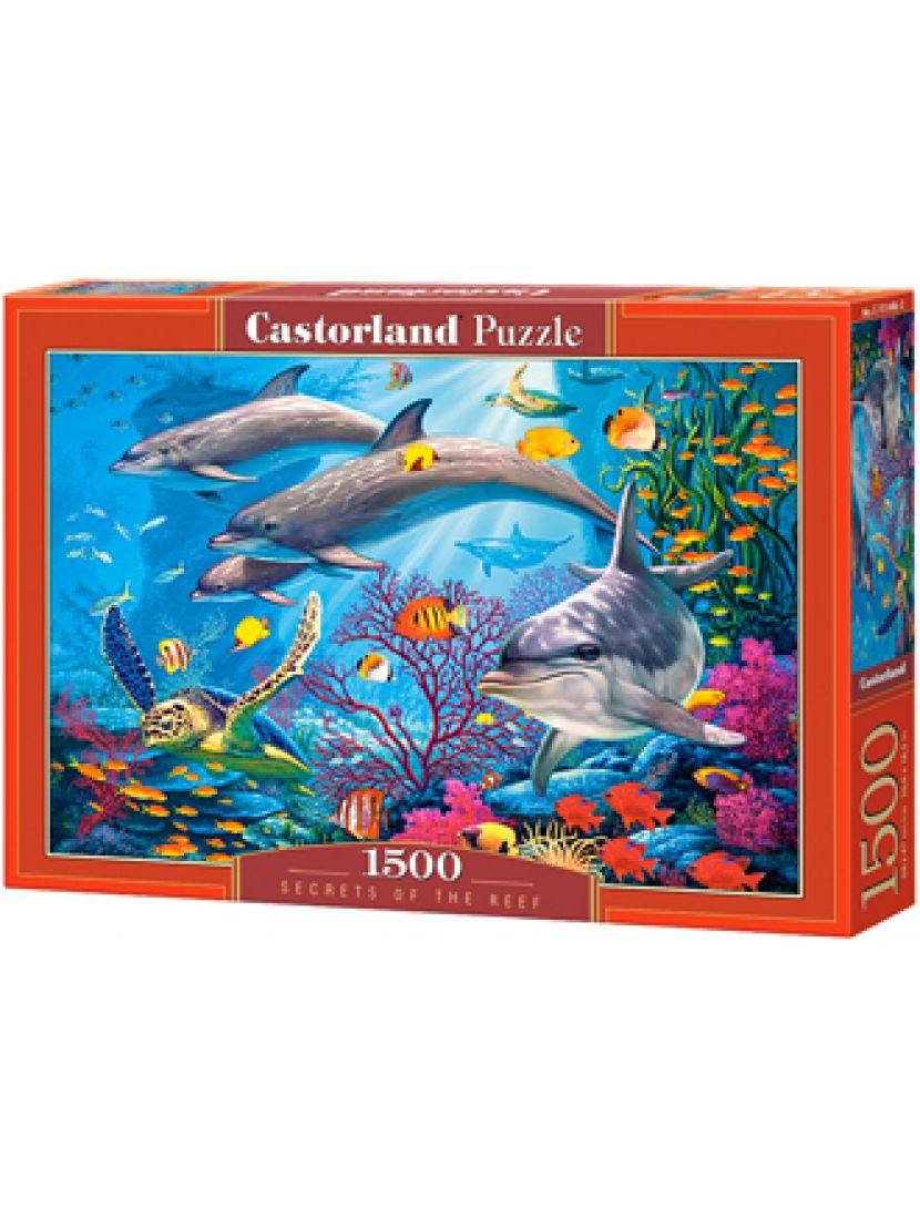 Пазл «Секреты рифа» 1500 элементов