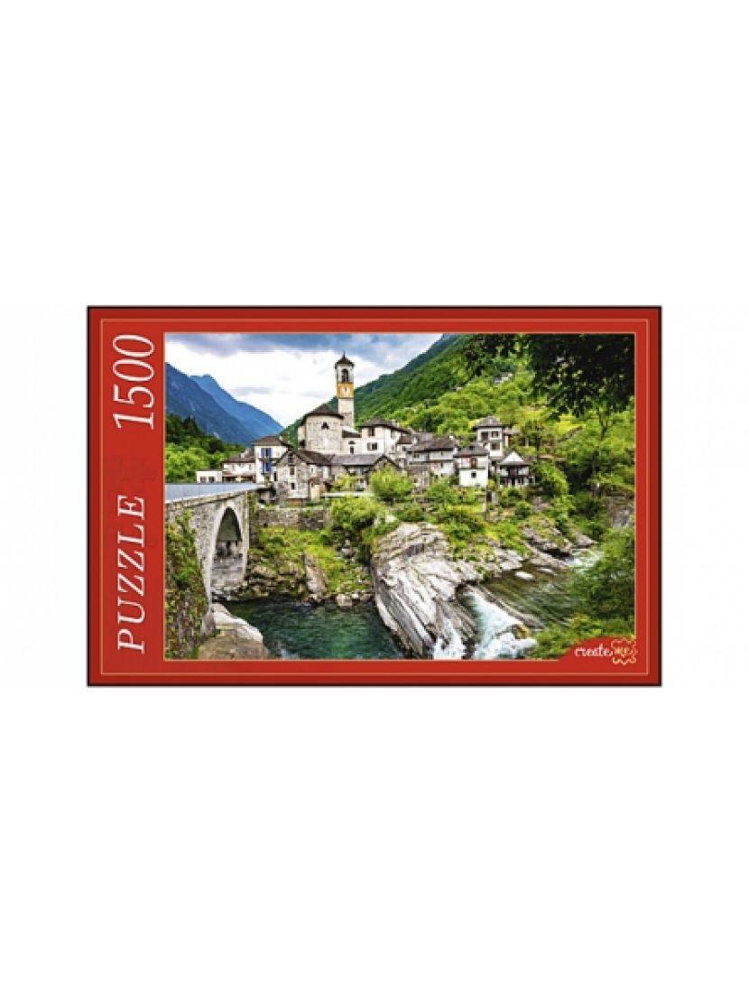 Пазл  «Лавертеццо, Швейцария» 1500 элементов