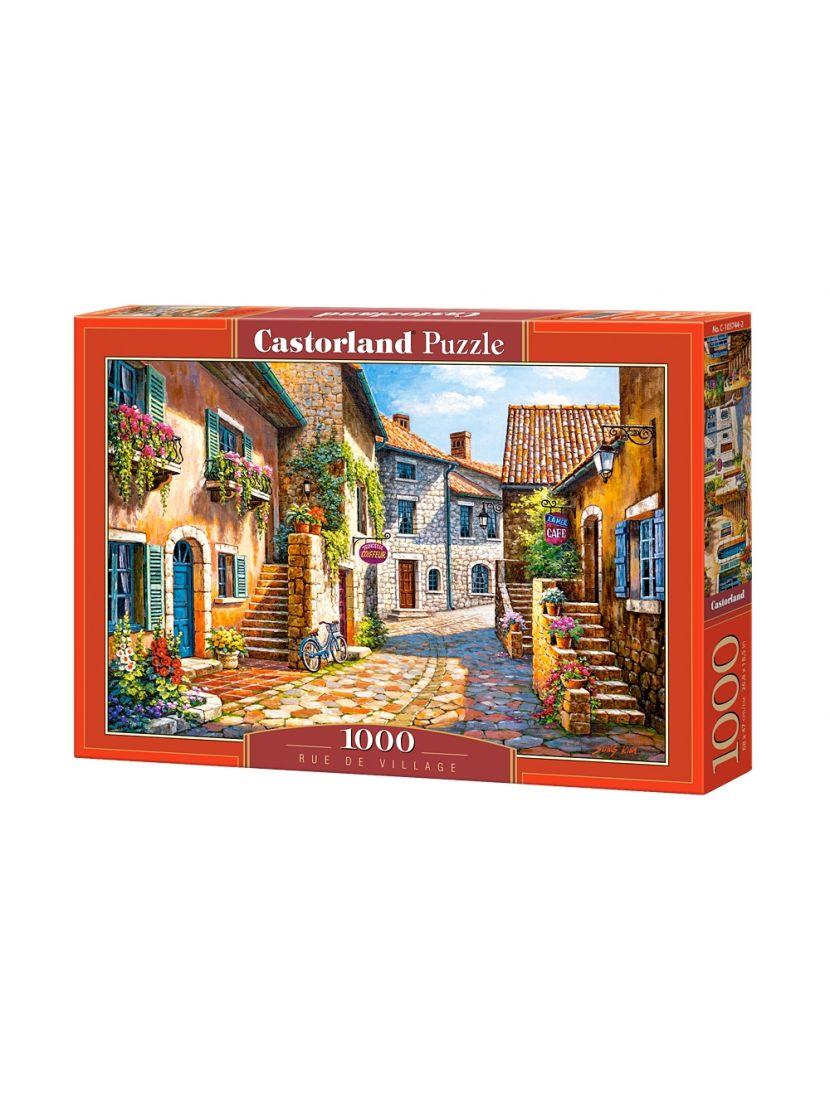 Пазл «Улица в цветах» 1000 элементов