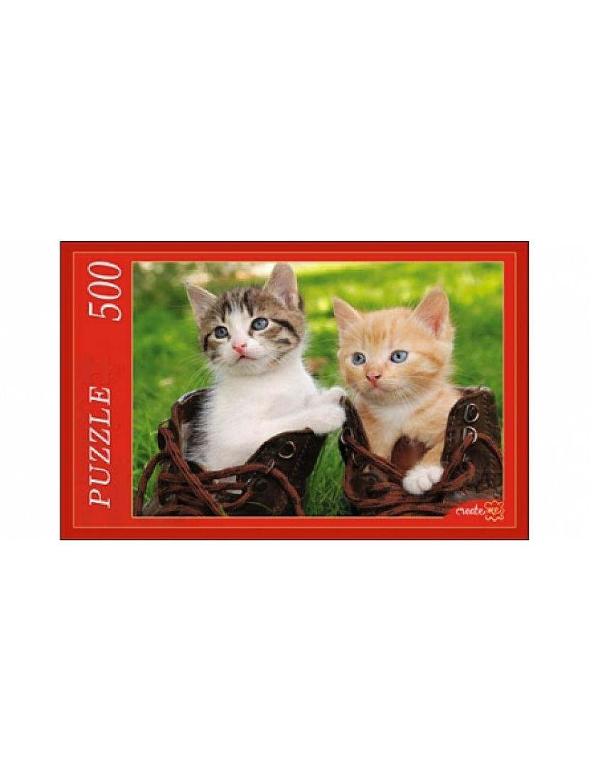 Пазл «Два котёнка» 500 элементов