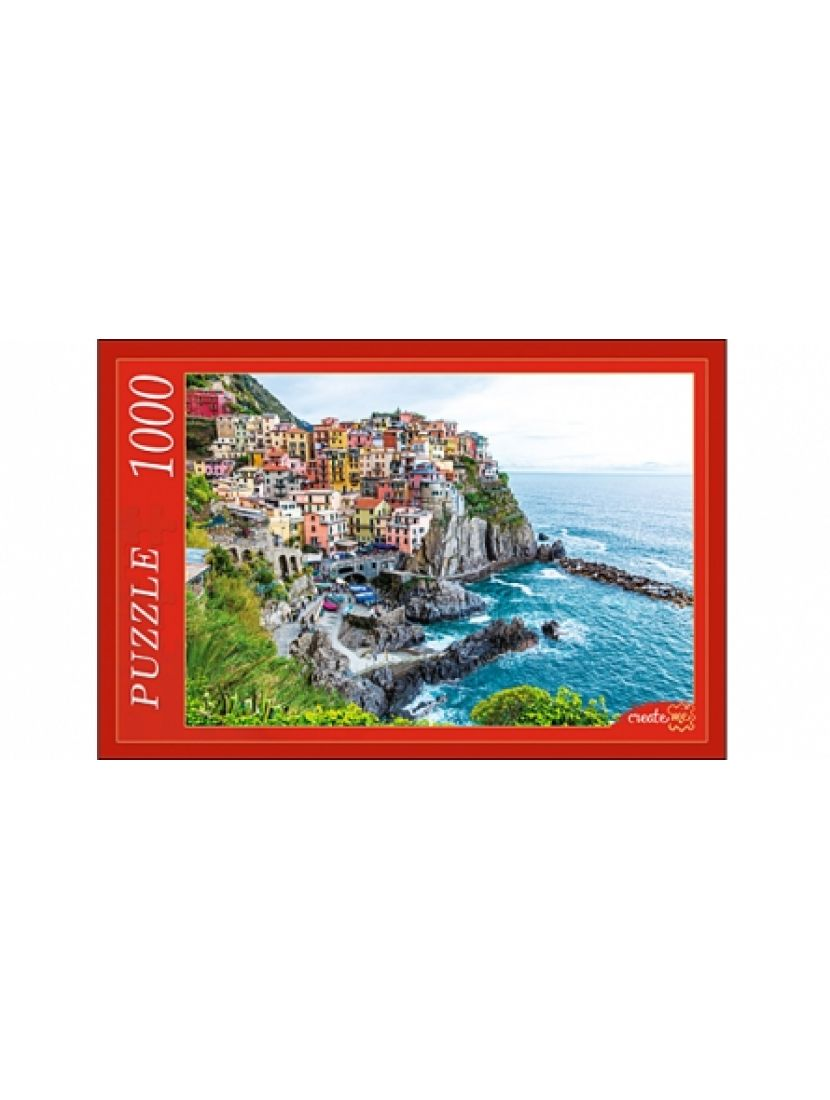 Пазл «Красочный город» 1000 элементов