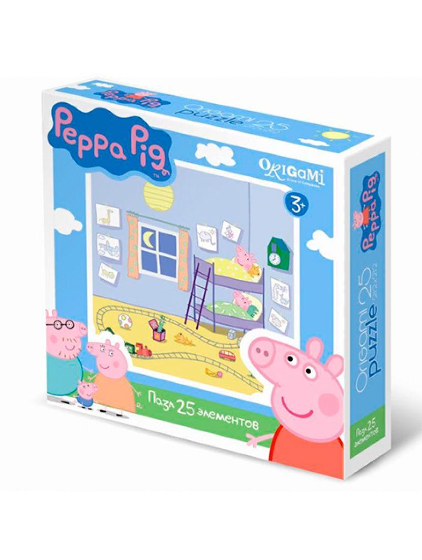 Пазл   «Peppa Pig» 25 элементов