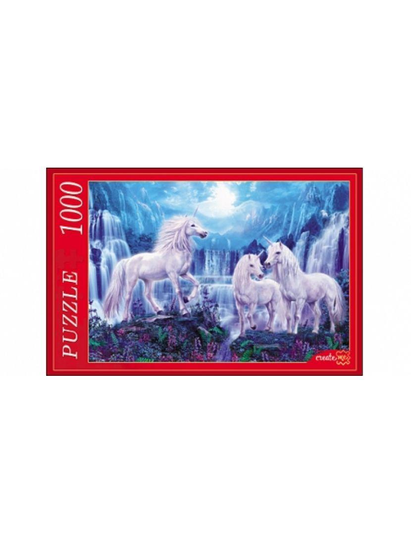 Пазл «Единороги и водопады» 1000 элементов