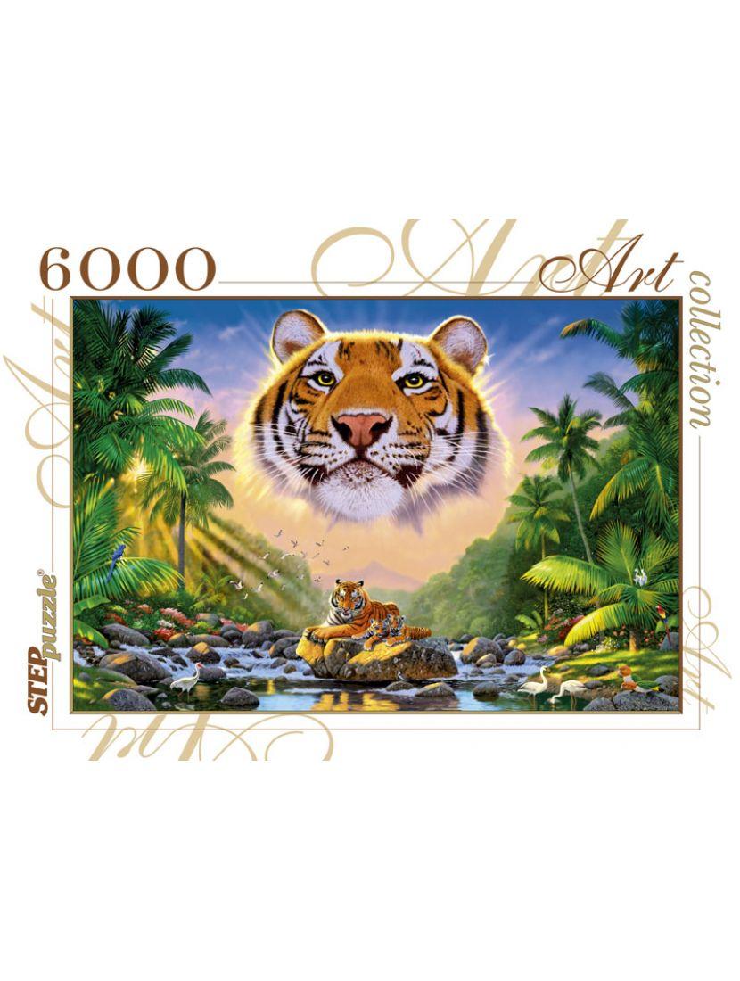 Пазл «Величественный тигр» 6000 элементов