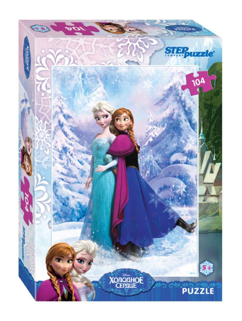 Пазл   «Disney Холодное сердце» 104 элемента