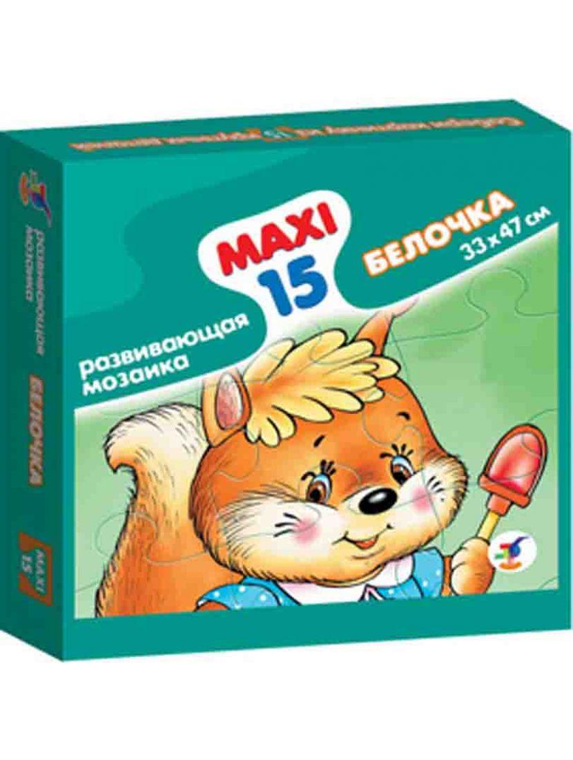 Пазл «Белочка» 15 MAXI элементов