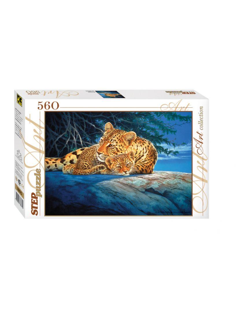 Пазл «Леопарды» 560 элементов