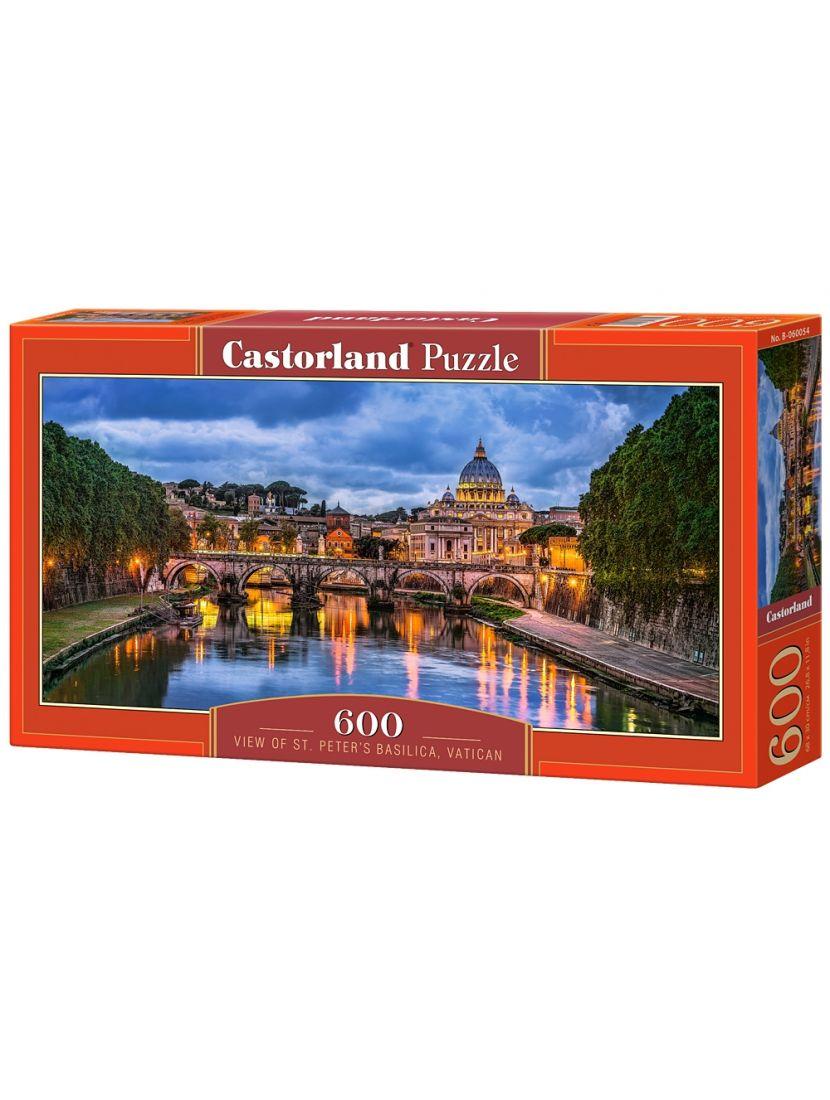 Пазл «Базилика Святого Петра» 600 элементов