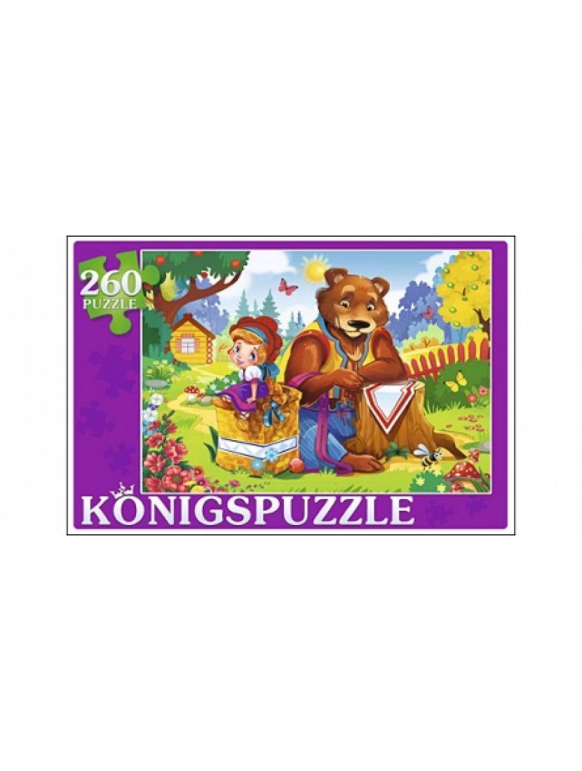 Пазл «Маша и медведь» 260 элементов