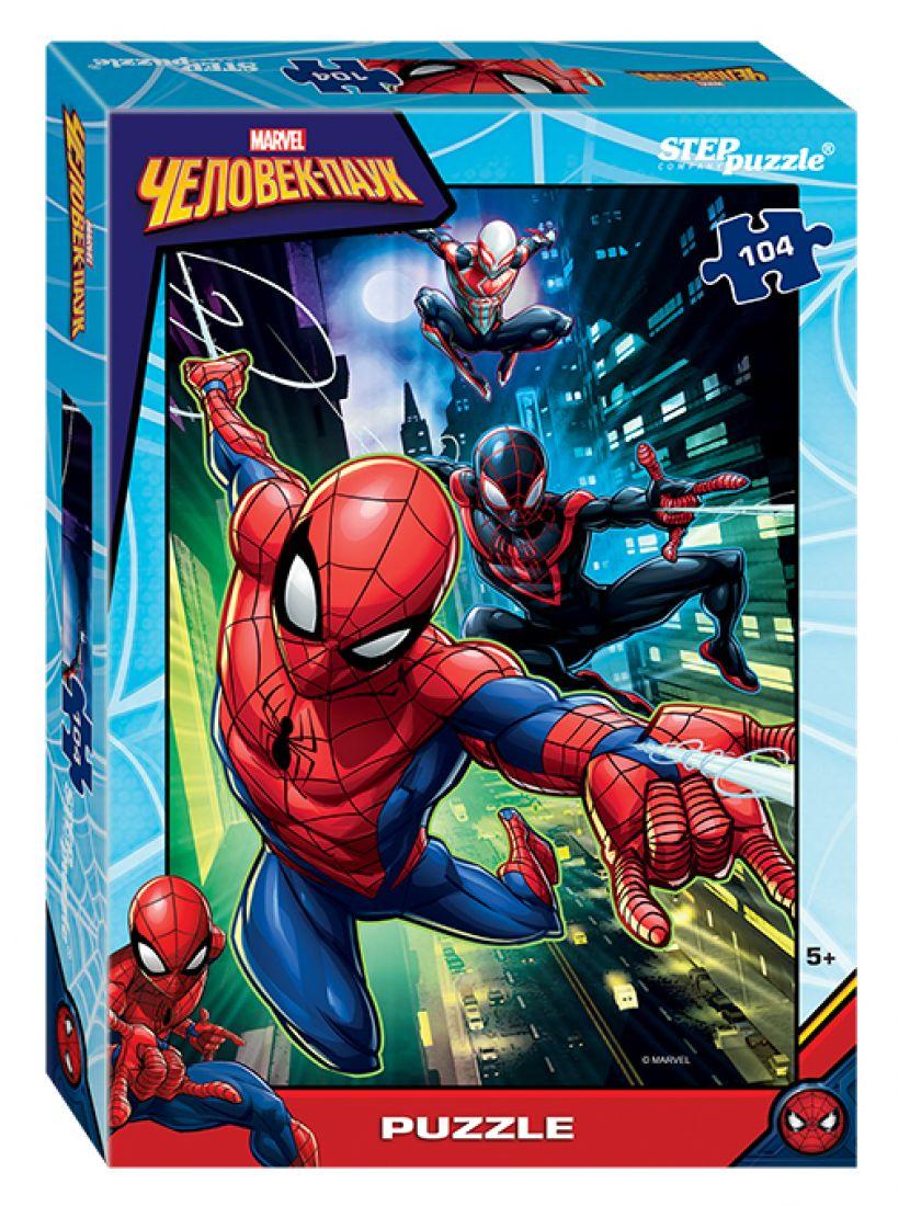 Пазл «Marvel: Человек-паук - 2 » 104 элемента