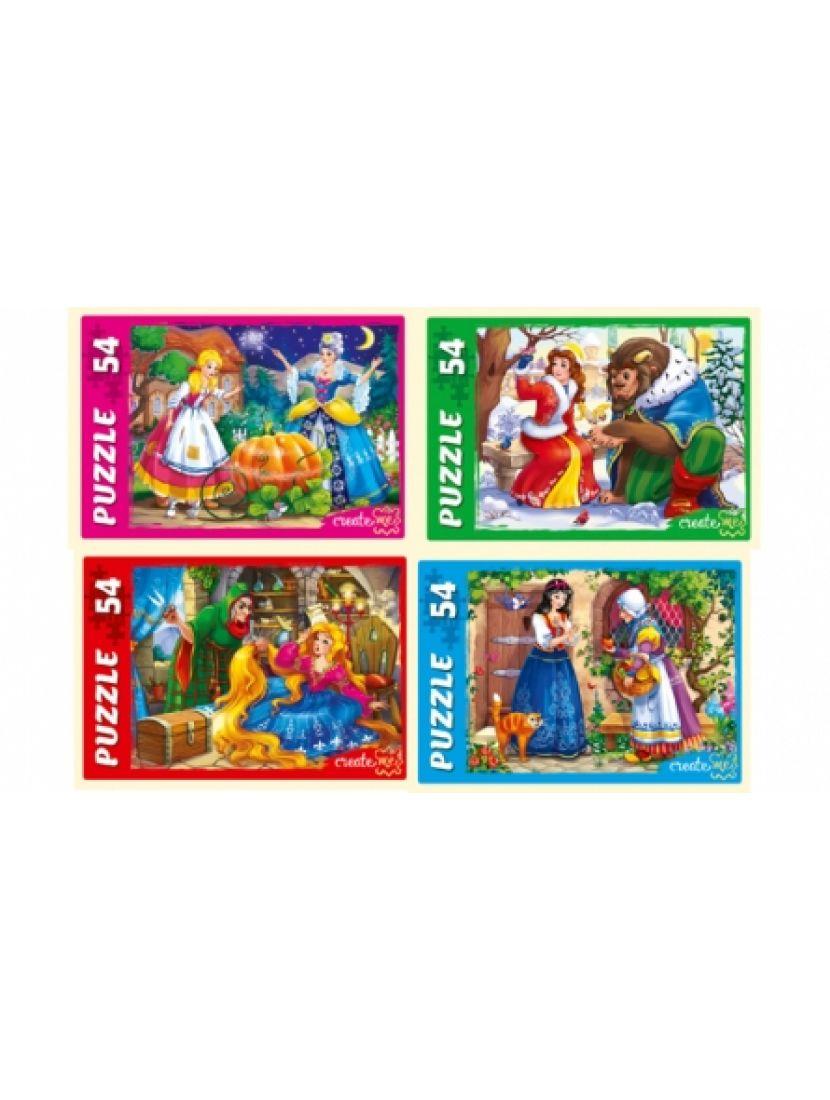 Пазл «Сказка о принцессах» 54 элемента