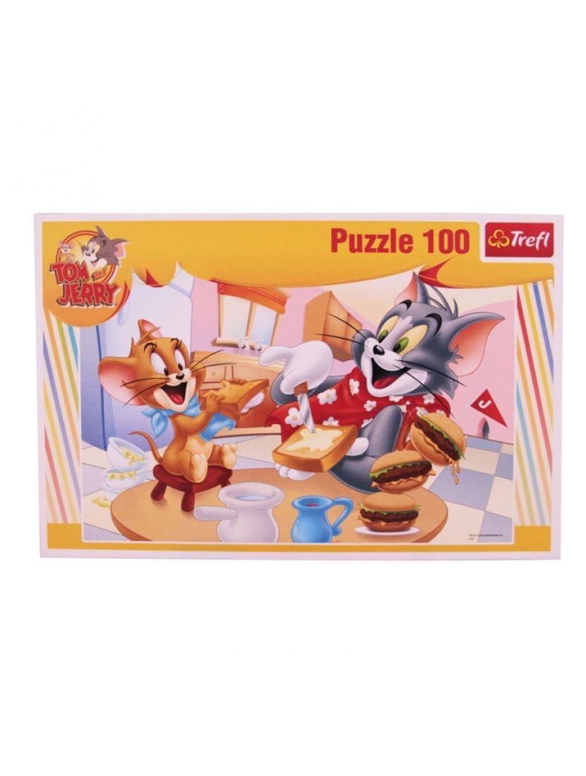 Пазл   «Том и Джерри» 100 элементов