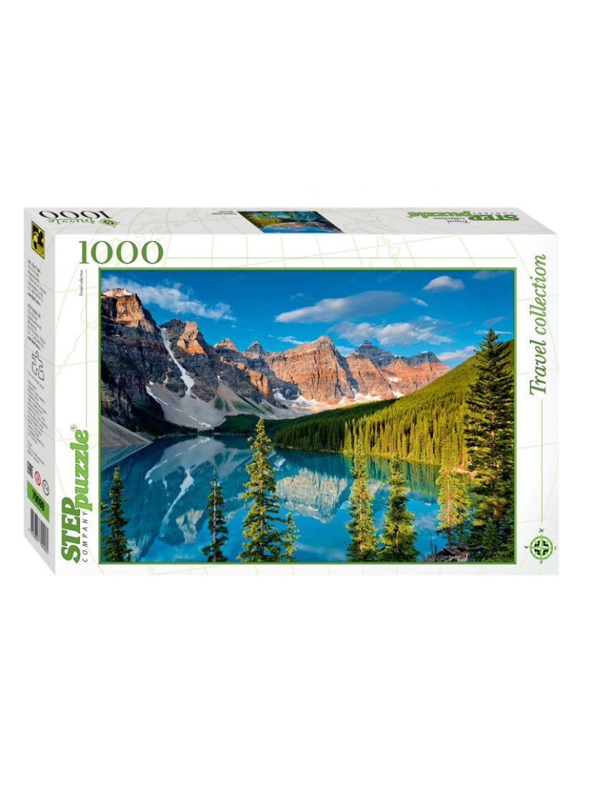 Пазл «Горное озеро» 1000 элементов
