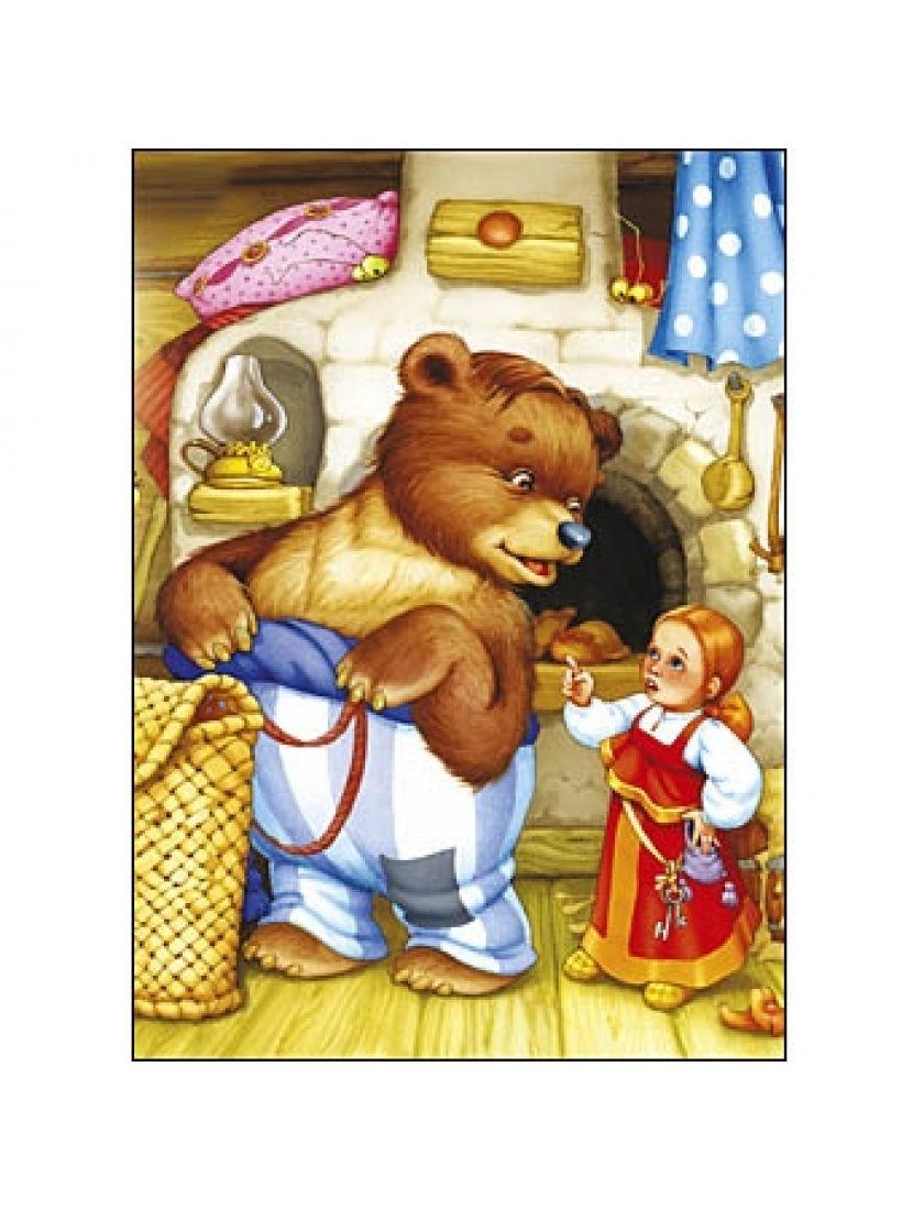 Пазл «Маша и медведь» 24 элементов