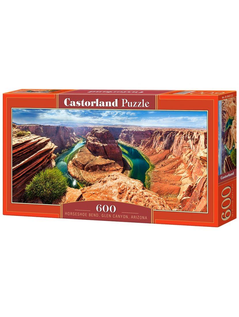 Пазл «Глен- Каньон, Аризона» 600 элементов