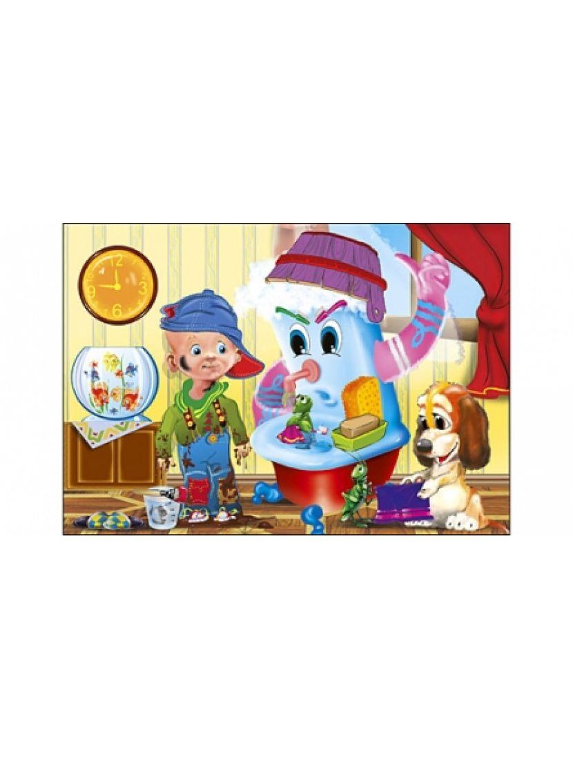 Пазл мягкий «Сказка для детей» 12 MAXI элементов