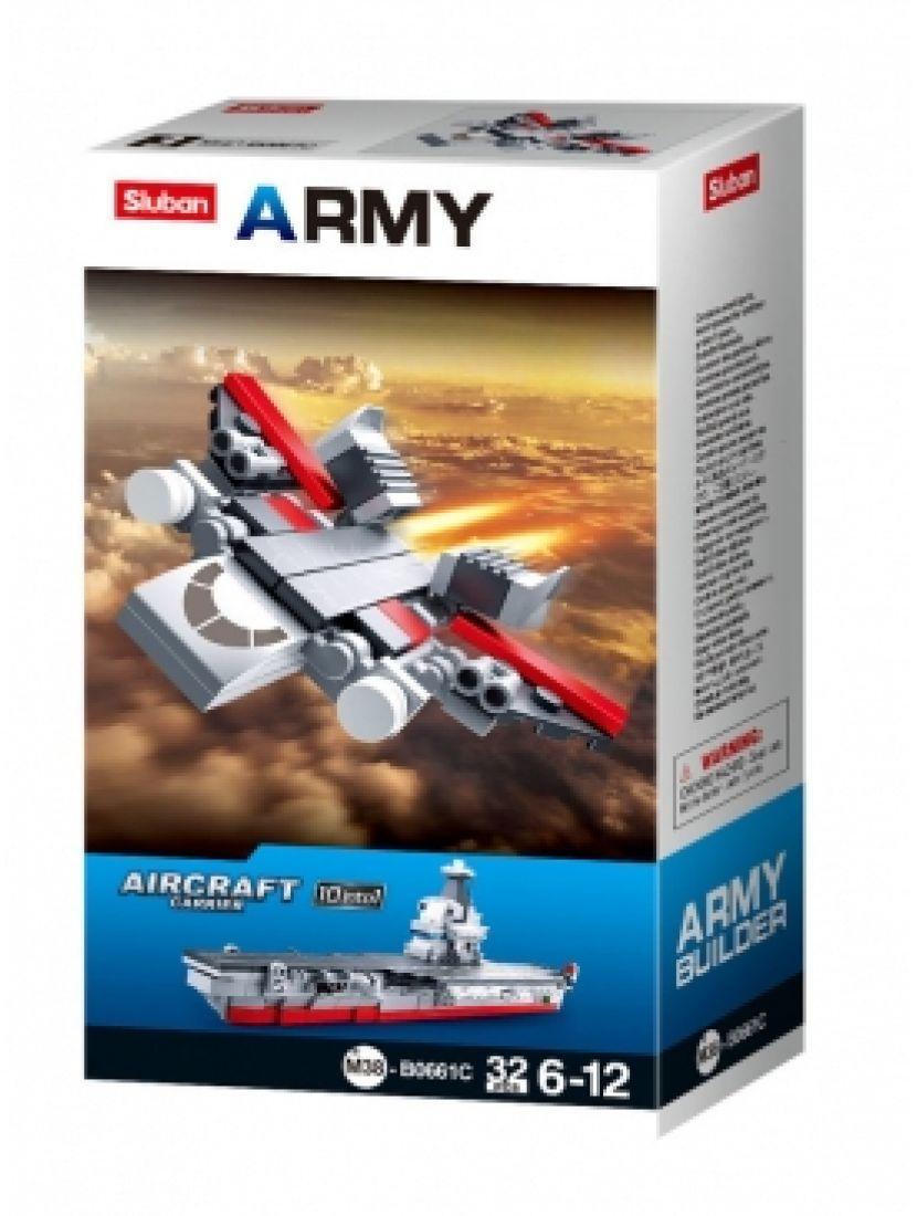 Конструктор «Армия. Истребитель 10 в 1» (32 детали)