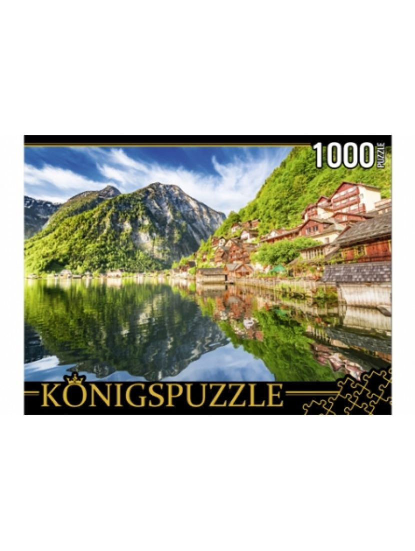 Пазл «Австрия, озеро  Хальштаттерзее» 1000 элементов