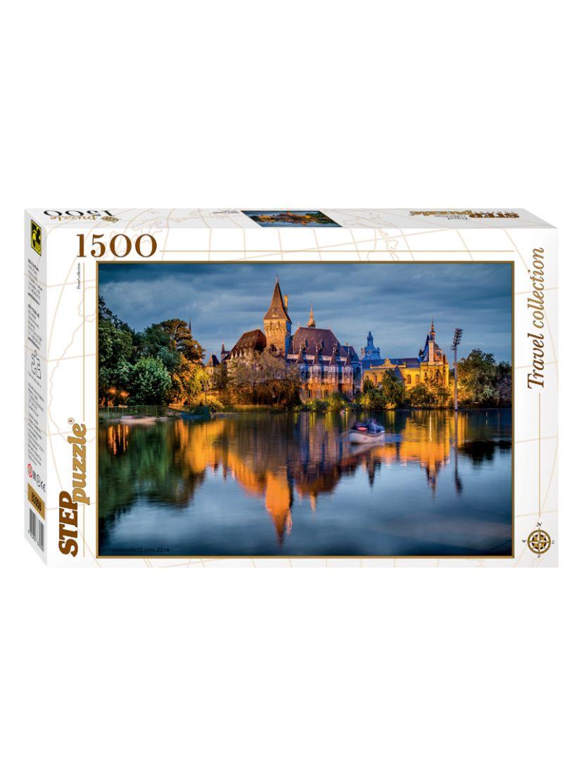 Пазл  «Замок у озера» 1500 элементов