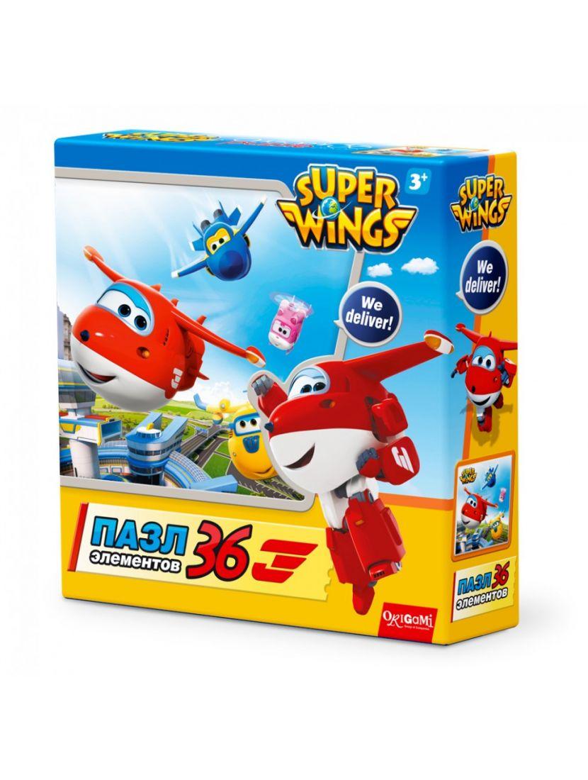Пазл «SuperWings. Взлет» 36 элементов