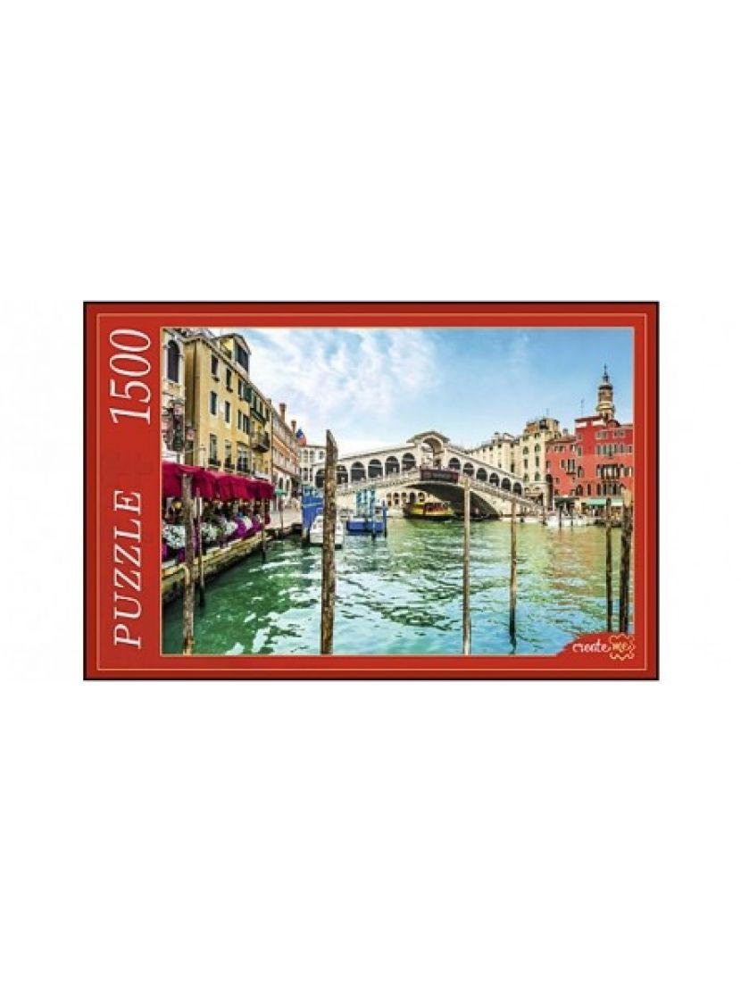 Пазл  «Венеция. Гранд - канал и мост Реальто» 1500 элементов