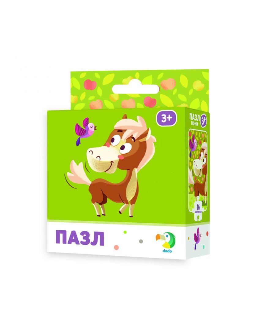 Пазл «Пони» 16 элементов