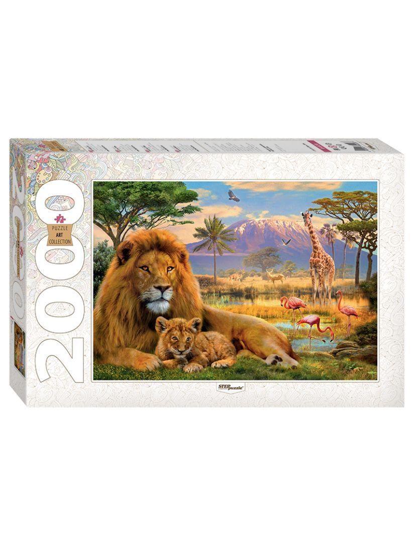 Пазл «Лев» 2000 элементов