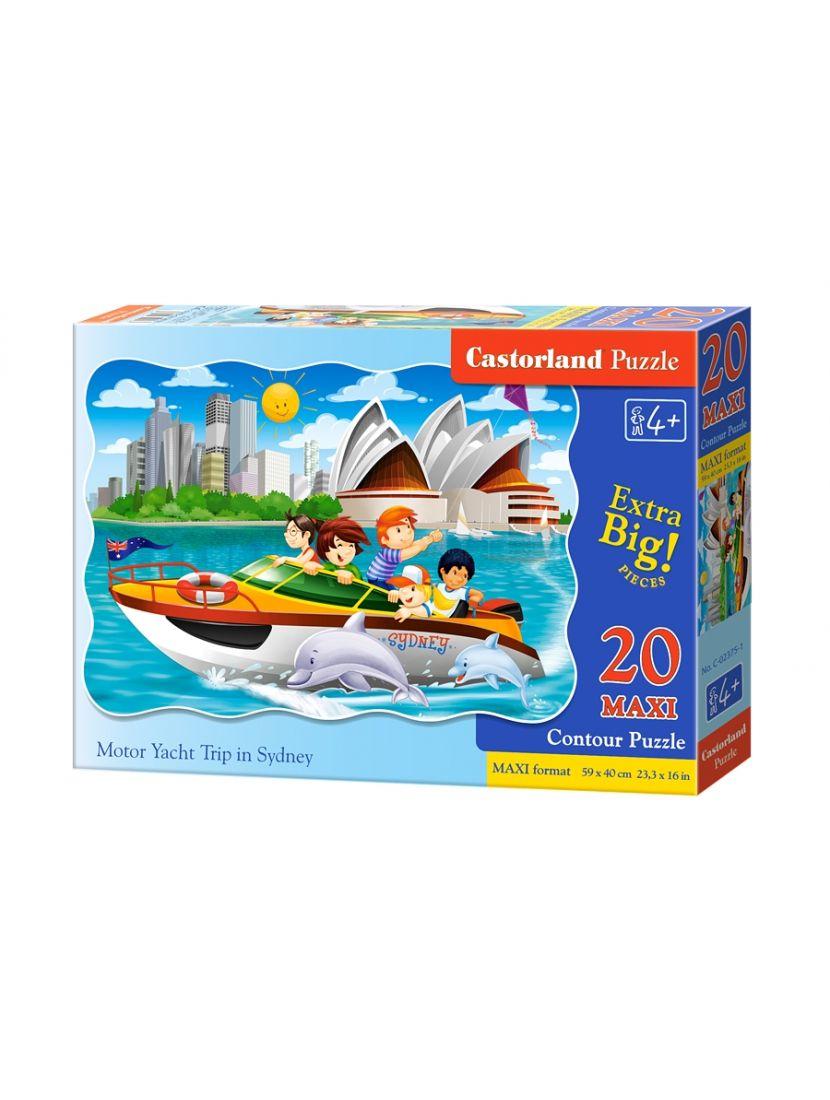 Пазл   «Яхта в Сиднее» 20 MAXI элементов