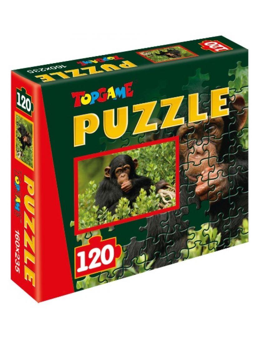 Пазл   «Шимпанзе» 120 элементов