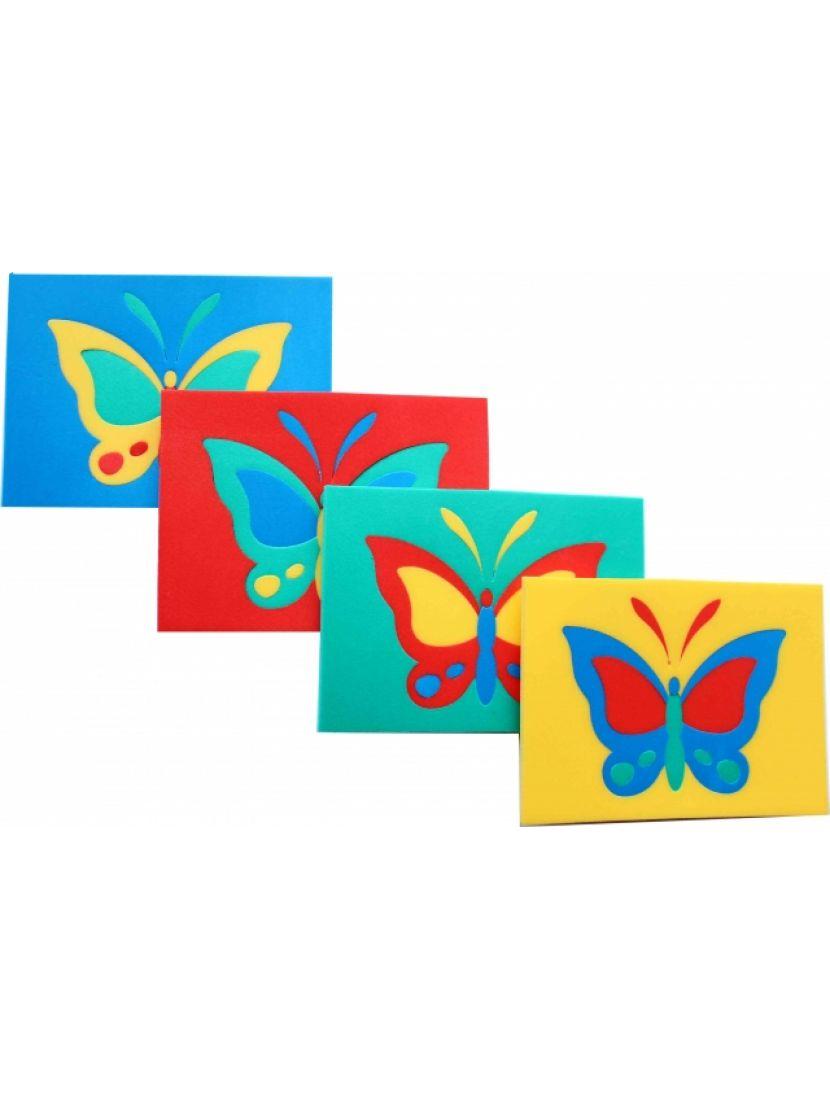 Пазл-мягкий «Бабочка»