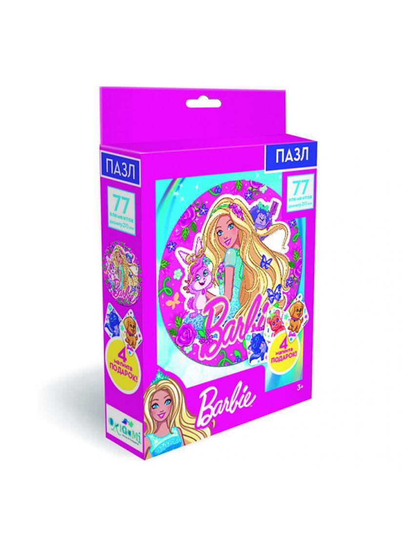 Набор пазл «Барби. Настоящая принцесса» 77 элементов + магниты
