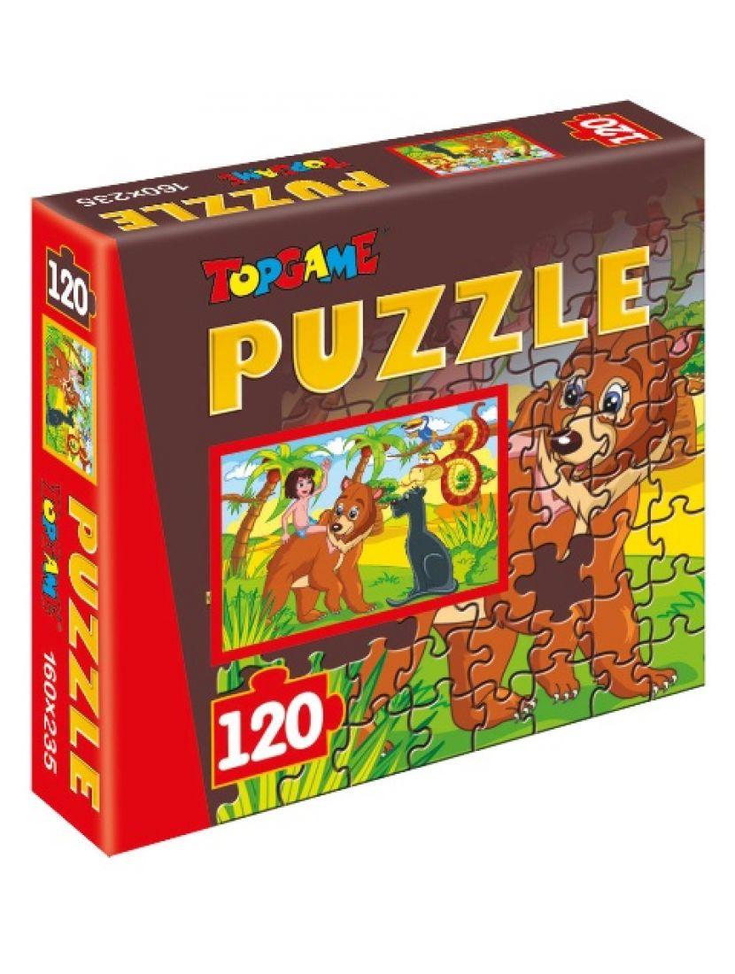 Пазл   «Маугли» 120 элементов
