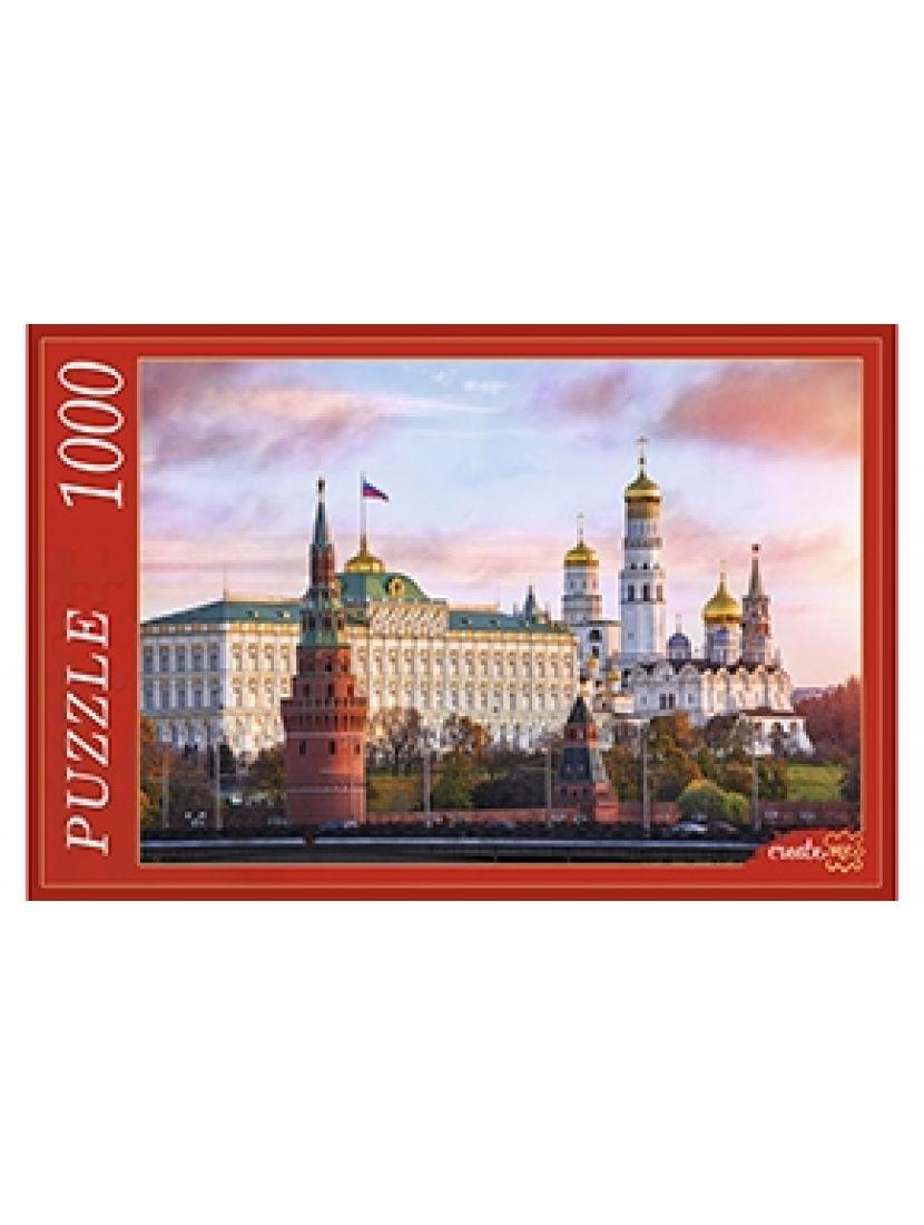 Пазл «Московский кремль на закате» 1000 элементов