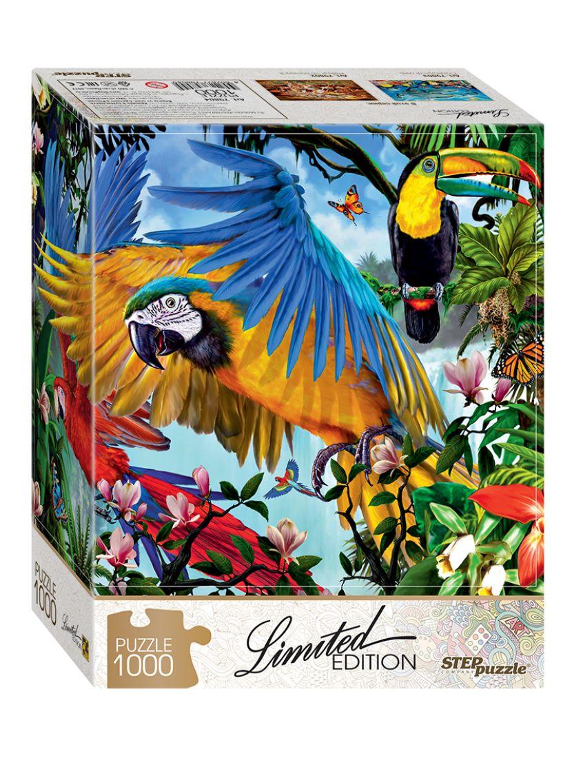 Пазл «Попугаи (Limited Edition)» 1000 элементов
