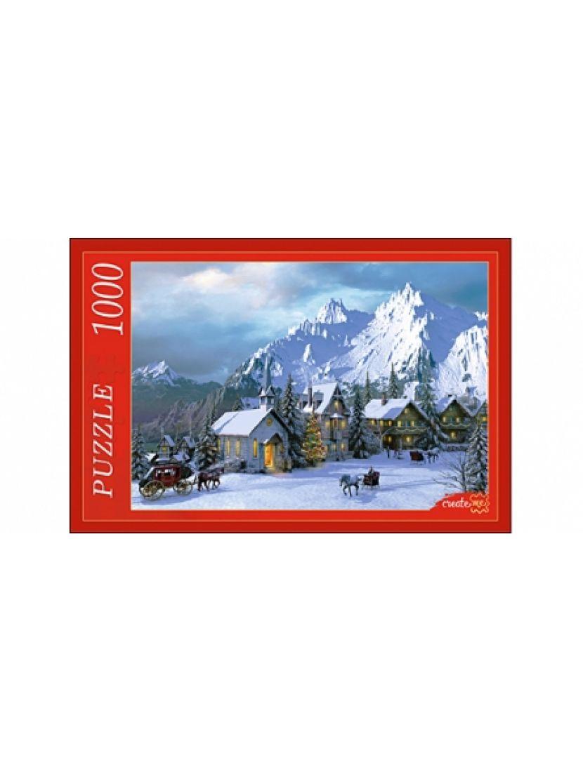 Пазл «Снежные Альпы» 1000 элементов