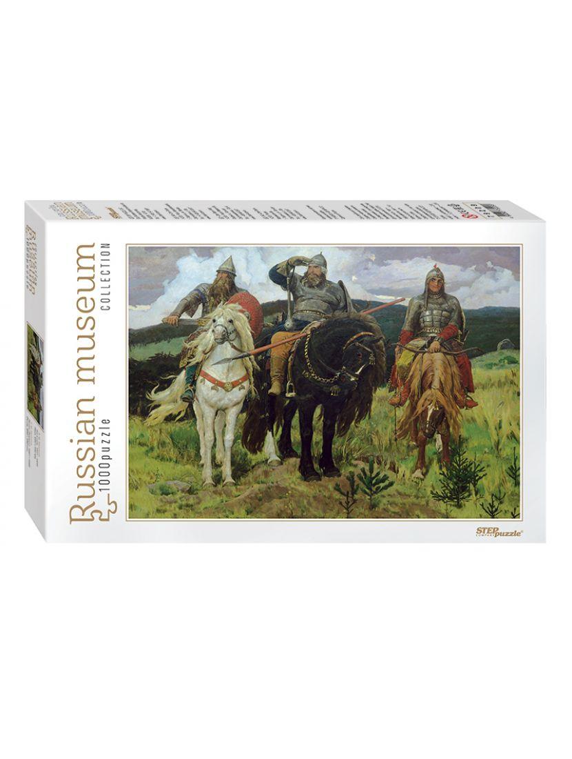 Пазл «Богатыри (Русские музеи new)» 1000 элементов