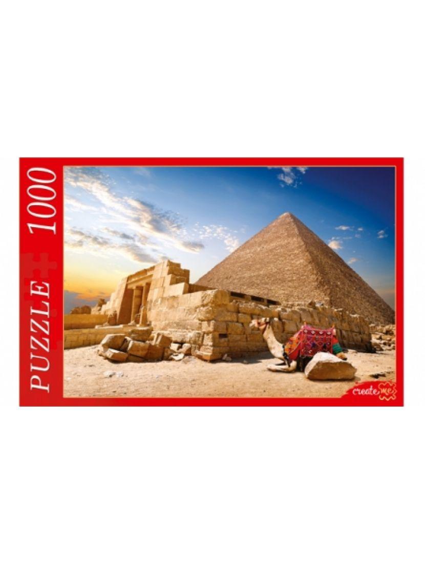 Пазл «Египет, Пирамиды, Верблюд» 1000 элементов