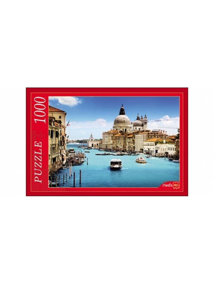 Пазл «Венеция на воде» 1000 элементов