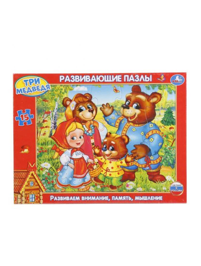 Пазл «Три медведя» 15 элементов
