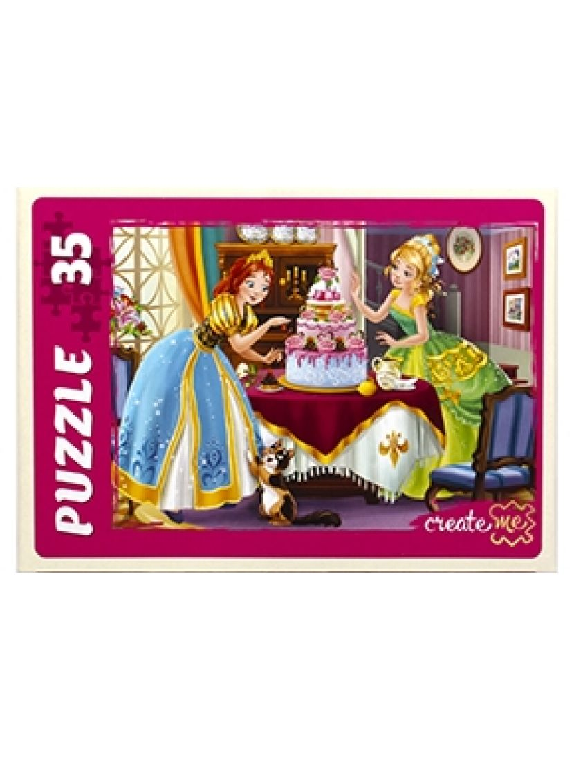 Пазл «Сказка о принцессах» 35 MAXI элементов